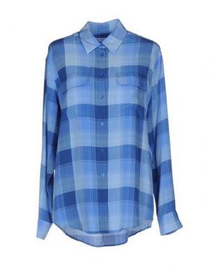 Pубашка EQUIPMENT. Цвет: лазурный