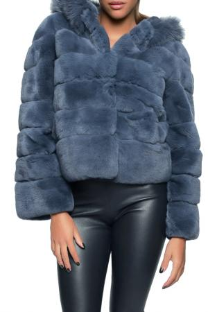 Fur jacket John&Yoko. Цвет: blue