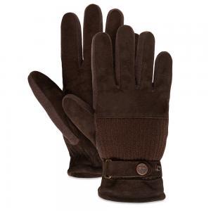 Мелкая и кожаная галантерея Ribbed Back Glove Timberland. Цвет: темно-коричневый