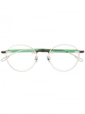 Солнцезащитные очки Le Meunier Jacquemus. Цвет: зеленый