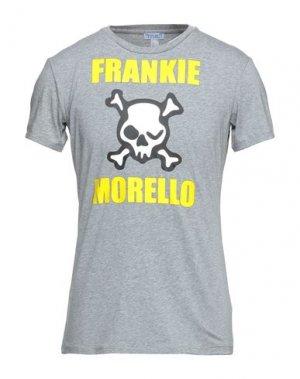Футболка FRANKIE MORELLO SEXYWEAR. Цвет: серый