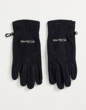 Черные перчатки Fast Trek II-Черный цвет Columbia