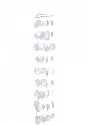 Подвеска-ветерок из ракушек-плакун bonprix. Цвет: белый