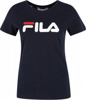 Футболка женская , размер 50 FILA. Цвет: синий