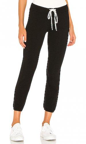 Спортивные брюки supersoft vintage MONROW. Цвет: черный