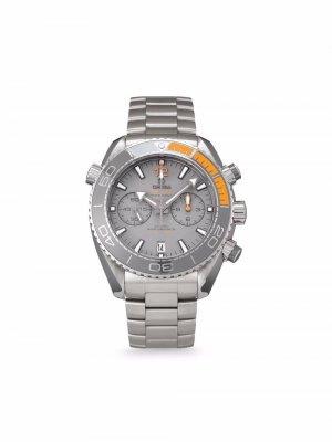 Наручные часы Seamaster Planet Ocean 600M pre-owned 45.5 мм 2021-го года OMEGA. Цвет: серый