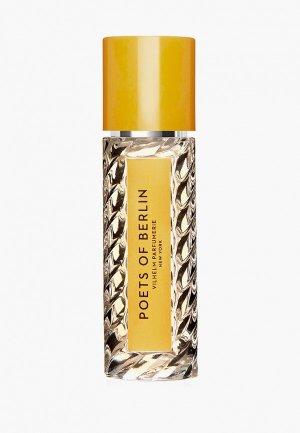 Парфюмерная вода Vilhelm Parfumerie New York POETS OF BERLIN EDP, 20 мл. Цвет: прозрачный