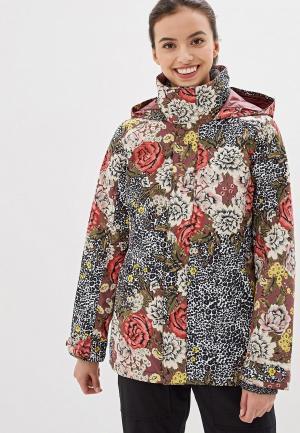 Куртка сноубордическая Burton W JET SET JK. Цвет: разноцветный