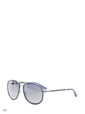Солнцезащитные очки TO 0100 92B Tod's. Цвет: синий, темно-серый