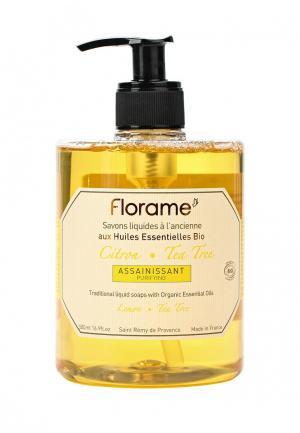 Мыло Florame жидкое провансальское Лимон - Чайное дерево