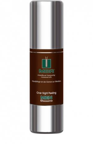 Пилинг ночного действия Men Oleosome Night Peeling Medical Beauty Research. Цвет: бесцветный