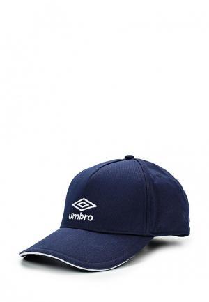 Бейсболка Umbro STRIPE LOGO CAP. Цвет: синий