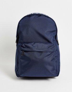 Темно-синий холщовый рюкзак Ralph Valentino Bags