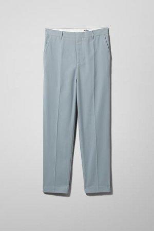 Костюмные брюки Abraham Weekday. Цвет: синий
