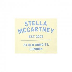 Хлопковая бандана Stella McCartney. Цвет: жёлтый