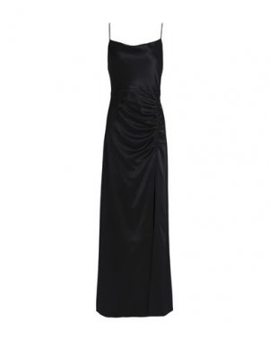 Длинное платье ALICE + OLIVIA. Цвет: черный