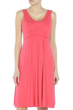 Платье Marc Aurel. Цвет: бордовый