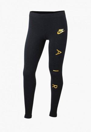 Леггинсы Nike Air Girls Leggings. Цвет: черный