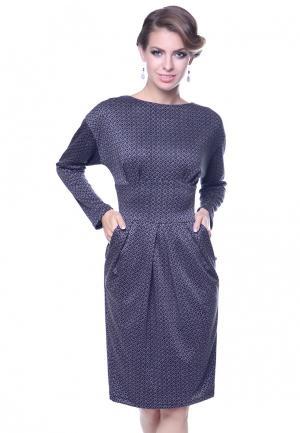 Платье Olivegrey DIANA. Цвет: синий