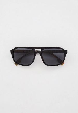 Очки солнцезащитные Burberry BE4320 383887. Цвет: черный