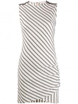 Платье Dicaprio 8pm. Цвет: бежевый