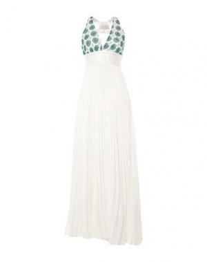 Длинное платье KI6? WHO ARE YOU?. Цвет: белый