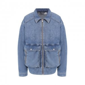 Джинсовая куртка Iro. Цвет: синий