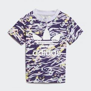 Футболка Originals adidas. Цвет: белый