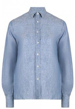 Рубашка ELEVENTY. Цвет: голубой