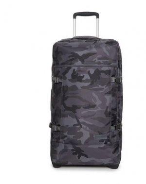 Чемодан/сумка на колесиках EASTPAK. Цвет: стальной серый