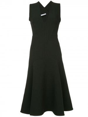 Платье с V-образным вырезом Ames CAMILLA AND MARC. Цвет: черный