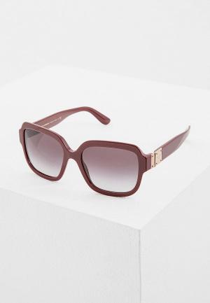 Очки солнцезащитные Dolce&Gabbana DG4336 30918G. Цвет: бордовый