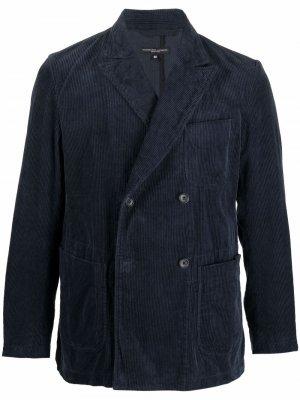 Вельветовый пиджак Newport Engineered Garments. Цвет: синий