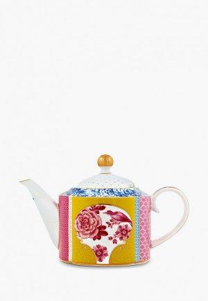 Чайник заварочный Pip Studio Royal. Цвет: разноцветный