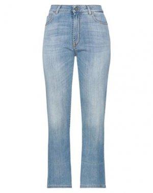 Укороченные джинсы MANILA GRACE. Цвет: синий