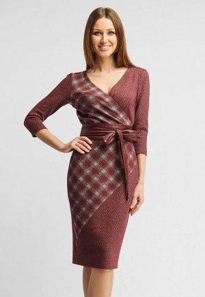 Платье Giulia Rossi. Цвет: бордовый