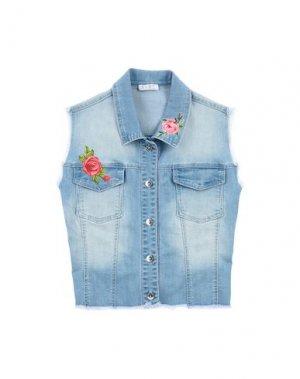 Джинсовая верхняя одежда ELSY. Цвет: синий
