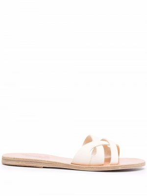 Apiron leather sandals Ancient Greek. Цвет: белый