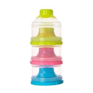 Контейнер порционный для детского питания, 3 секции, цвета микс Крошка Я