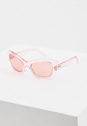 Очки солнцезащитные Prada PR 19MS 339345. Цвет: розовый