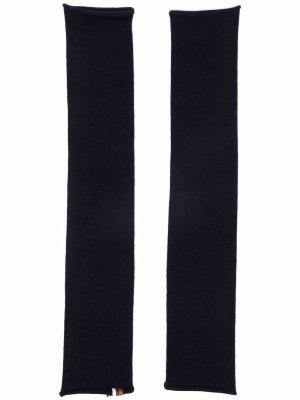 Tube Narrow arm warmers extreme cashmere. Цвет: синий