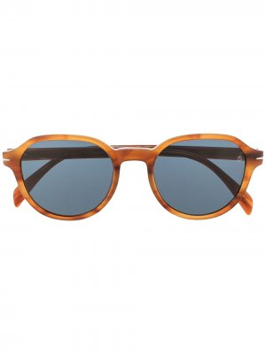Солнцезащитные очки 1044/S в прямоугольной оправе Eyewear by David Beckham. Цвет: черный