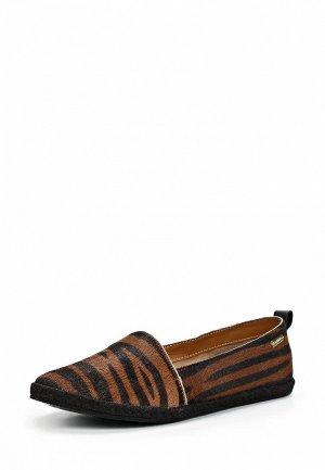 Слипоны Kaanas KA007AWBYA80. Цвет: коричневый