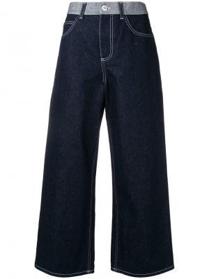 Широкие джинсы Marni