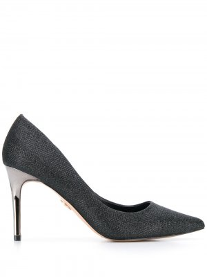Фактурные туфли-лодочки Fanny Buffalo. Цвет: черный