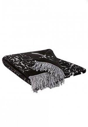Пляжное полотенце VERSACE. Цвет: черный