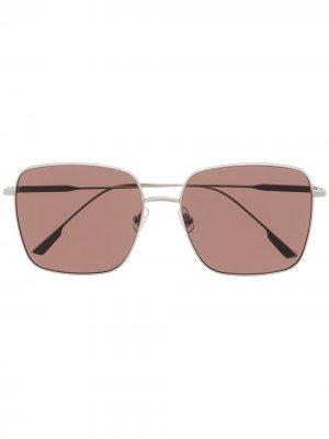 Солнцезащитные очки Diane Gentle Monster. Цвет: коричневый
