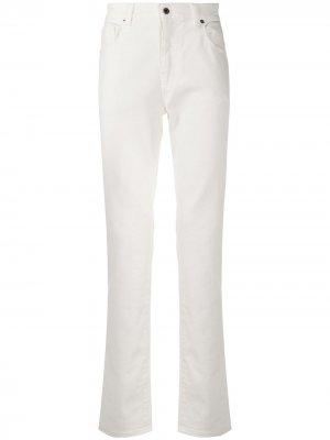 Расклешенные джинсы Moschino. Цвет: белый