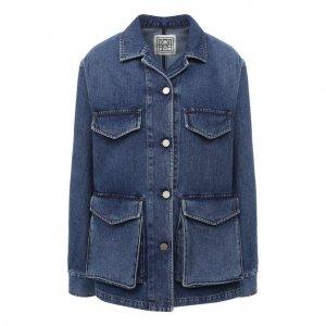 Джинсовая куртка Totême. Цвет: синий