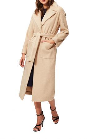 Coat Sandro Ferrone. Цвет: beige